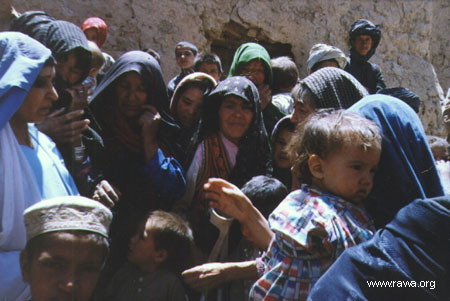 RAWA in drought-stricken villages of Herat