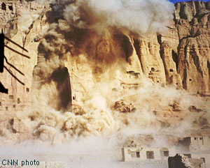 Bamyan Buddha Statues were destroyed completely by ignorant Taliban
