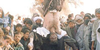 Taliban-style public hangings in 'liberated' Afghanistan